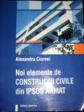 Noi Elemente De Constructii Civile Din Ipsos Armat - Alexandru Ciornei ,549468