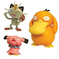 Pokemon, Meowth, Snubbull & Psyduck 5- 7 cm
