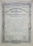 1000 Reichsmark titlu de stat Germania 1935