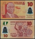 = NIGERIA - 10 NAIRA - 2018 – POLYMER - UNC    =