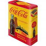 Cutie de depozitare metalica - Coca Cola