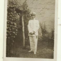 Foto Tanara in uniforma de ofiter de marina - 1931, Calafat