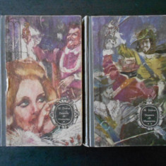ALEXANDRE DUMAS - DOAMNA DE MONSOREAU 2 volume (1968, editie cartonata)