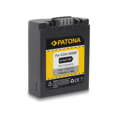 Acumulator Panasonic CGA-S006 100% compatibil Lumix DMC-FZ7 FZ8 FZ18 FZ28 FZ30 foto