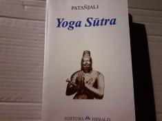 YOGA SUTRA - PATANJALI, EDITURA HERALD, 319 pag foto