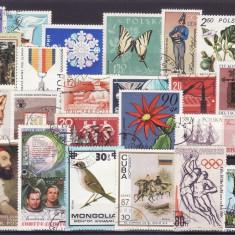 11 - lot timbre diverse tari