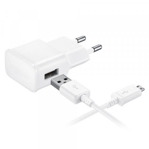 Incarcator microUSB HTC HD2 2000mAh In Blister Alb