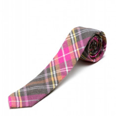 Cravata Gri In Carouri CR006-2819