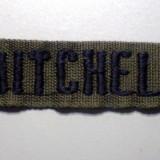 M.014 EMBLEMA BANDA TEXTILA ECUSON MITCHELL 18cm/27mm