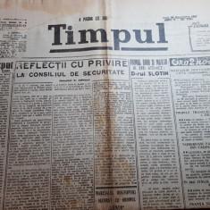 ziarul timpul 30 decembrie 1946-regele mihai l-a decorat pe george enescu