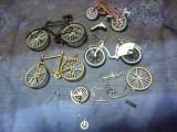 Cumpara ieftin Biciclete miniaturi metalice pentru piese
