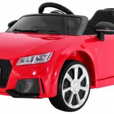 Masinuta electrica Audi TT RS Quattro, rosu