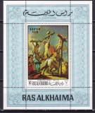 Ras al Khaima  1970  pictura  Pasti  MI  bl. 80A  MNH  w66