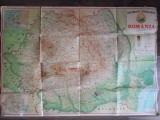 Harta geografica RSR