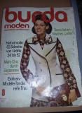 Revista veche de moda anii 1971,tipare si modele de croitorie BURDA,Tp. GRATUIT