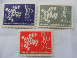 Serie timbre nestampilate Europa CEPT MNH, Nestampilat
