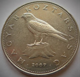 Moneda 50 FORINTI / Forint - UNGARIA, anul 2007 *cod 227 - A.UNC, Europa
