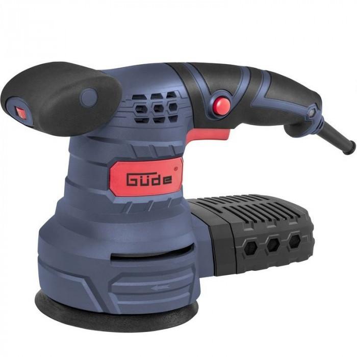 Masina de slefuit rotativa EXS 125 E Guede GUDE58130, 380W, O125 mm