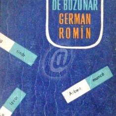 Dictionar de buzunar german - roman (1961)
