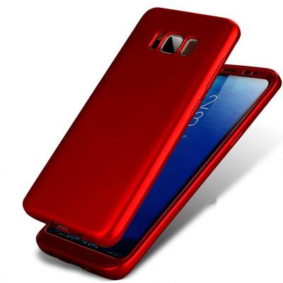 Husa Samsung Galaxy S7 Flippy Full Silicone 360 Rosu foto