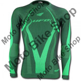 MBS Tricou termic Ufo Plast Camo, cu maneca lunga, verde, XXL, Cod Produs: MG04407AXXL