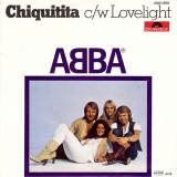 ABBA - Chiquitita c/w Lovelight (1979, Polydor) disc vinil single 7''