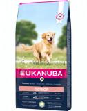 EUKANUBA Dog Base Senior Large Breeds Lamb & Rice hrana uscata caini seniori talie mare, miel si orez 12 kg