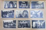 LOT DE 104 FOTOGRAFII CU SCENE DIN DIVERSE PIESE DE TEATRU CU ACTORI ROMANI , TIP CARTE POSTALA , MONOCROME , PERIOADA INTERBELICA
