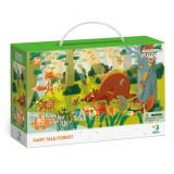 Puzzle - Padurea fermecata a animalutelor (80 piese) PlayLearn Toys, Dodo