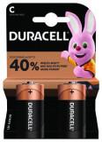 Baterii alcaline Duracell Duralock C / R14 2 Bucati / Set