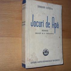 SANDRA  COTOVU  -  JOCURI  DE  APA  ( 1938, foarte rara ) *
