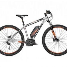 Bicicleta electrica Focus FOC-633517003 Jarifa2, Roti 29inch, 9 Viteze, Motor 250 W (Gri)