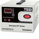 Stabilizator de retea maxim 2000VA / 1200W Ted 2000