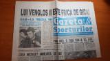 gazeta sporturilor 11 noiembrie 1994-hagi la meciul 90 pt nationala