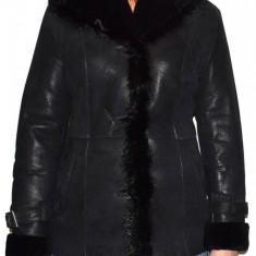 Cojoc dama, din blana naturala, Kurban, 2011-01-95, negru