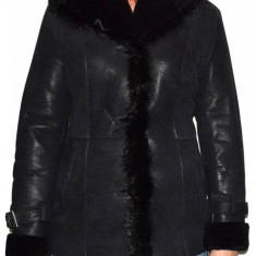 Cojoc dama, din blana naturala, marca Kurban, 2011-01-95, negru L