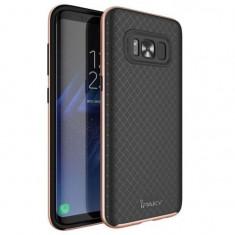 Husa Ipaky Bumblebee Neagru cu Auriu Roze Pentru Samsung Galaxy S8 Plus G955