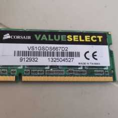 Ram Laptop Corsair 1GB DDR2 667 MHz