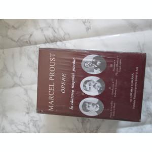MARCEL PROUST-OPERE 3 VOLUME ACADEMIA ROMANA