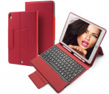 "Cumpara ieftin Husa Tableta cu Tastatura Apple iPad 9.7"" 5Th Generation 2017-2018 IPad Air 5"" ofera protectie Lux Suport Pen Holder Red"
