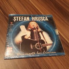 CD STEFAN HRUSCA-DIMINEATA LUI CRACIUN DE COLECTIE  NOU SIGILAT