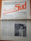 Gazeta de sud  2-16 aprilie 1990 anul 1,nr.1-prima aparitie a ziarului