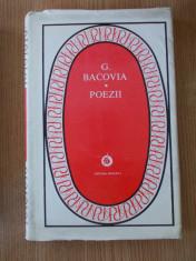BACOVIA- POEZII, 1980, cartonata foto