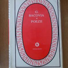 BACOVIA- POEZII, 1980, cartonata