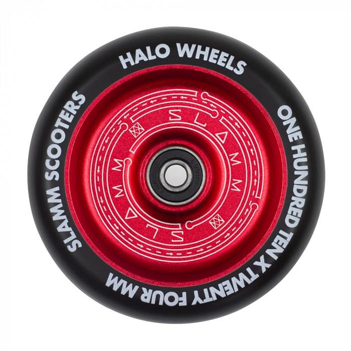Roata trotineta Slamm 110mm Halo Deep Dish Red + Abec 9