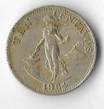 Moneda 10 centavos 1964 - Filipine, America Centrala si de Sud