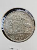 Australia 1938 Florin necirculata