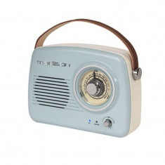 Radio retro Madison Nostalgia, 15 W, Bluetooth, USB/AUX, acumulator