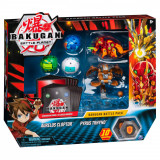 Set 5 Bakugan Battle Planet, Aurelus Cloptor, Pyrus Trhyno, 20115629