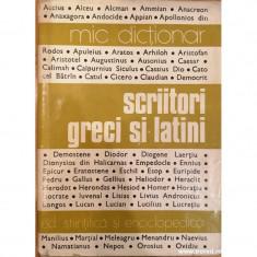 Scriitori greci si latini